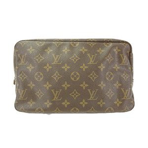 Auth Louis Vuitton Pouch Monogram Trousse Toilette M47522
