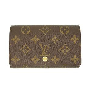 ルイ・ヴィトン(Louis Vuitton) モノグラム ポルトフォイユトレゾール/Portefeuille Tresor/M61736 レディース モノグラム 財布(二つ折り) ブラウン,モノグラム