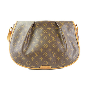 Auth Louis Vuitton Shoulder Bag Monogram Menilmontan MM M40473 Brown Women's