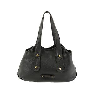 Auth Salvatore Ferragamo Tote Bag AU-21 7286 Leather Black