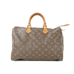 Auth Louis Vuitton Hand Bag Monogram Speedy35 M41107 Brown Women's