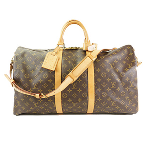 Louis Vuitton Monogram キーポル・バンドリエール55 Keepall Bandouliere 55 M41414 Boston Bag