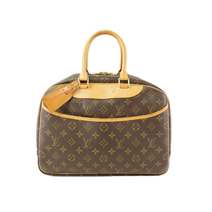 Auth Louis Vuitton Boston Bag Monogram Deauville M47270