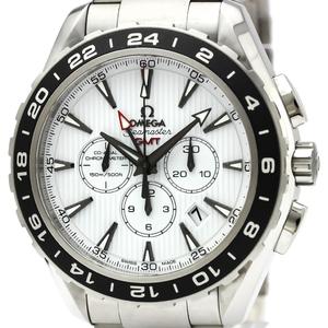 OMEGA Seamaster Aqua Terra GMT Steel Watch 231.10.44.52.04.001
