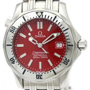 Omega Seamaster Quartz Stainless Steel Men's Sports Watch 2562.60