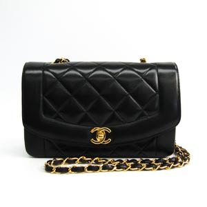 シャネル(Chanel) A01164 レディース レザー ショルダーバッグ ブラック