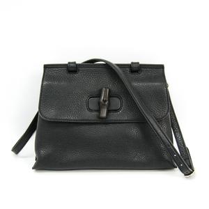 Gucci Daily 370831 Women's Leather Handbag Black