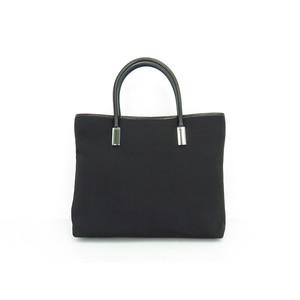 Gucci Men,Women PVC Handbag Black
