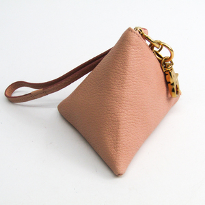 See By Chloé BERLINGOT 9P7769-P305 Women's Leather Pouch Baby Pink