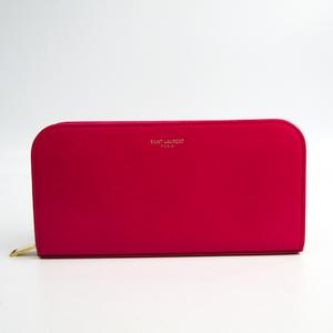 サン・ローラン(Saint Laurent) 326599 レディース  カーフスキン 長財布(二つ折り) ピンク