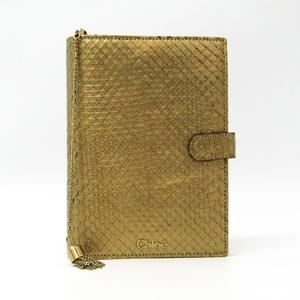 クロエ(Chloé) 手帳 ゴールド パイソン アジェンダ 3P0525