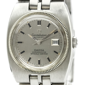 Omega Constellation Automatic Stainless Steel Women's Dress Watch 568.014