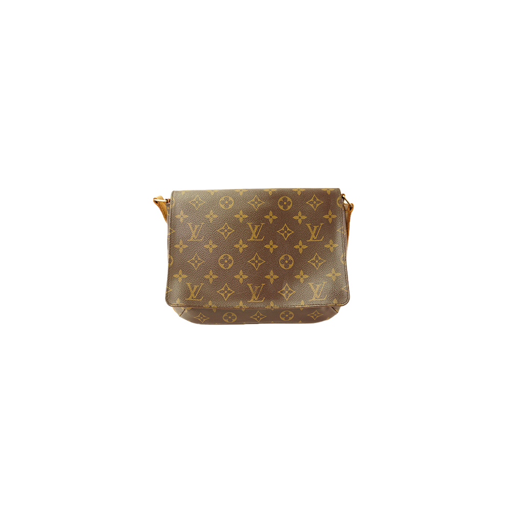 e147e9463f60 Auth Louis Vuitton Monogram Musette Tango Short shoulder M51257