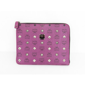 MCM Leather C,l Purple