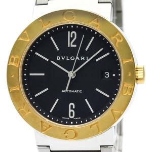 【BVLGARI】ブルガリ ブルガリブルガリ K18 ゴールド ステンレススチール 自動巻き メンズ 時計 BB38SG AUTO
