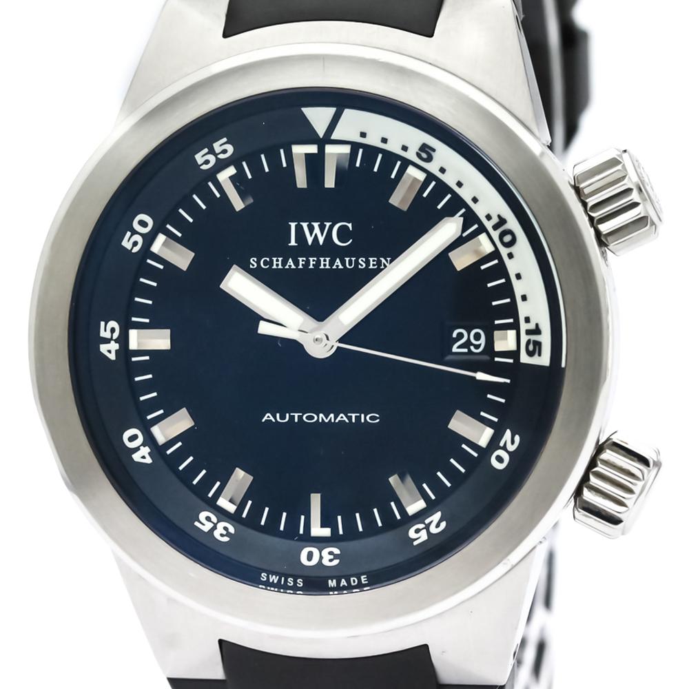 【IWC】アクアタイマー ステンレススチール ラバー 自動巻き メンズ 時計 IW354807