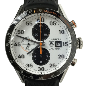 Tag Heuer Carrera CAR2A12 FT6033 Stainless Steel Men's Watch