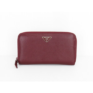 Prada Leather Long Wallet (bi-fold)