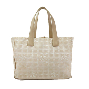 cc6cad09d4fc Chanel New Travel Line A15991 Women's New Travel Line,Nylon T,o Beige