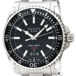 Gucci Quartz Stainless Steel Men's Sports Watch YA136311