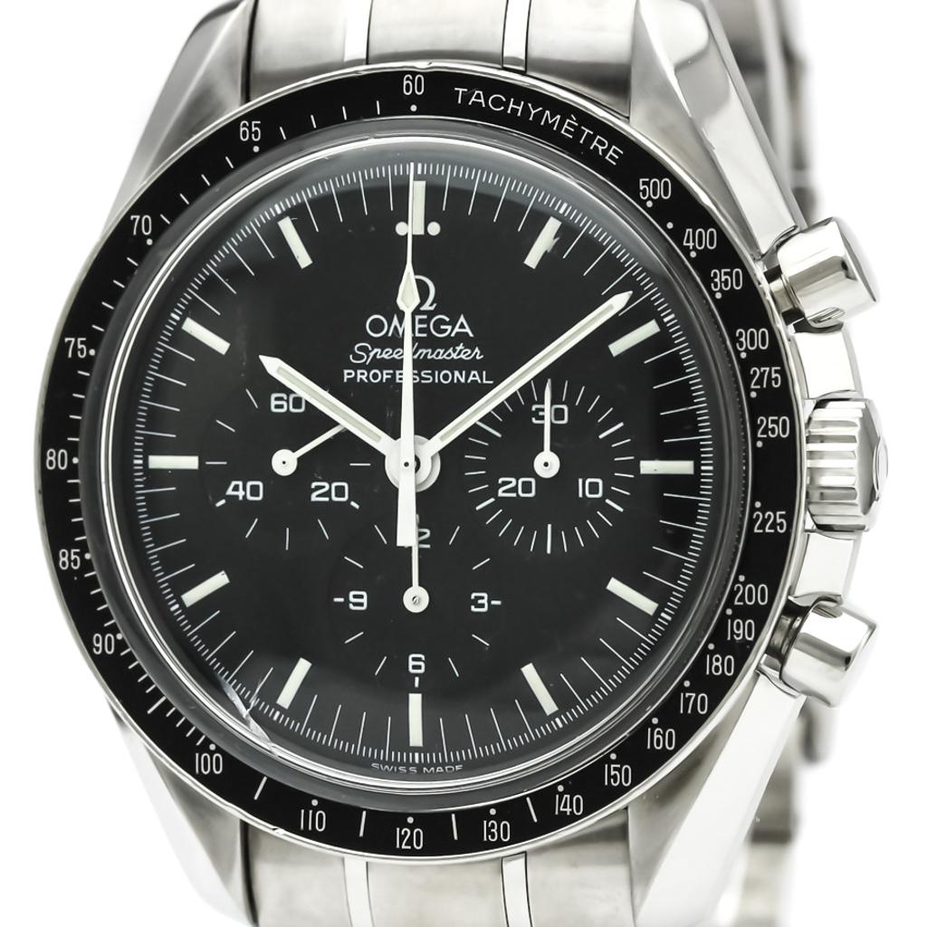 3acb5e5816a5 Detalles acerca de Acero Pulido OMEGA SPEEDMASTER Professional Reloj De  Luna 3570.50 BF331590- mostrar título original