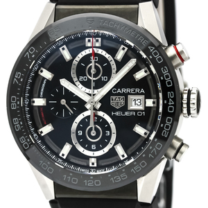 Tag Heuer Carrera Automatic Stainless Steel Men's Sports Watch CAR201Z