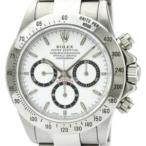 ロレックス(Rolex) デイトナ 自動巻き ステンレススチール(SS) メンズ スポーツウォッチ 16520