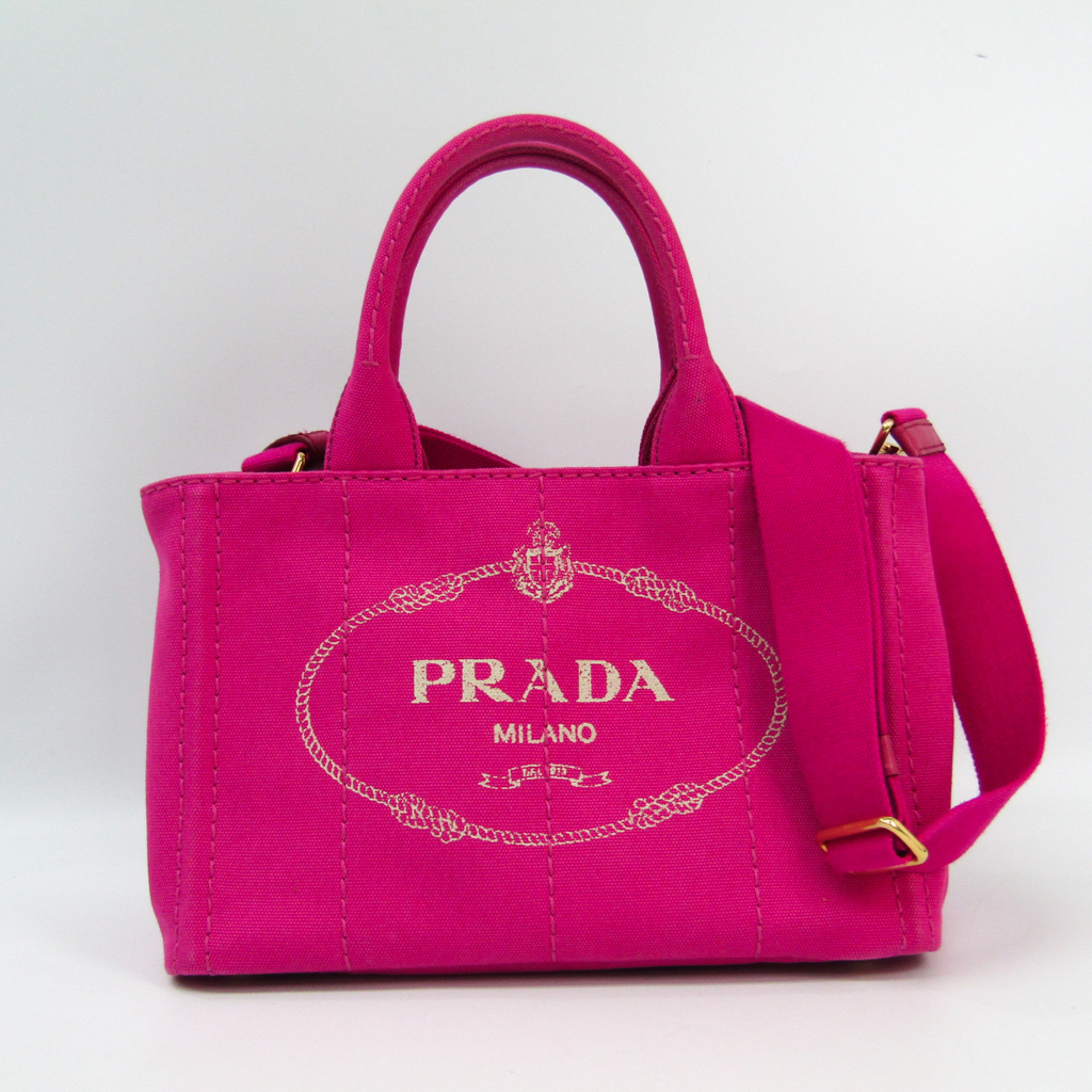 445e29bc1969 ... ireland prada canapa 1bg439 womens canvas tote bag fuxia bf333316 c1c74  c6ed1