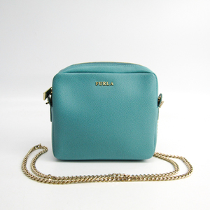 Furla Women's Leather Shoulder Bag Blue