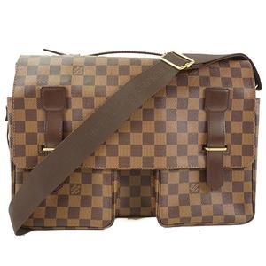 52b5da66d04 Auth Louis Vuitton Shoulder bag Damier Broadway N42270