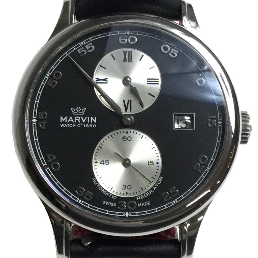 1259a6bd05 ... メンズ 腕時計. マーヴィン(Marvin) マルトンレギュレーター M115.13.44.64 自動巻き ステンレススチール(