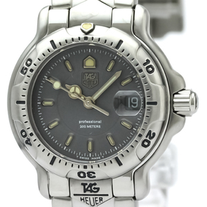 Tag Heuer 6000 Series Quartz Stainless Steel Women's Dress Watch WH1318