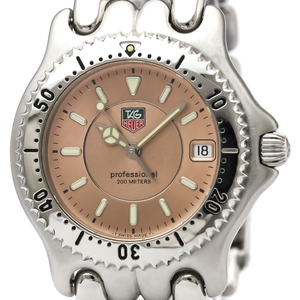 Tag Heuer Sel Quartz Stainless Steel Men's Dress Watch WG111D
