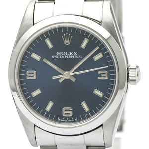 Rolex Oyster Perpetual Automatic Stainless Steel Unisex Dress Watch 77080
