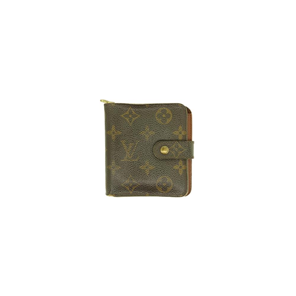 ルイヴィトン 財布 モノグラム コンパクト ジップ M61667