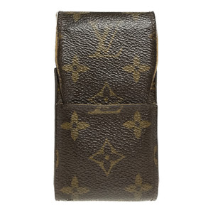 Louis Vuitton Monogram Cigarette Case Ebene M63024