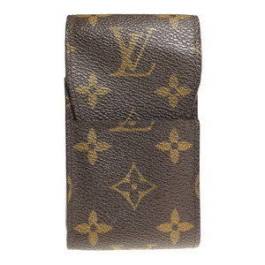 Louis Vuitton Monogram Cigarette Case M63024 Ebene