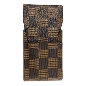 ルイ・ヴィトン(Louis Vuitton) ダミエ タバコケース エベヌ N63024 エテュイ・シガレット