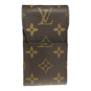 Louis Vuitton Monogram Ebene Cigarette Case M63024