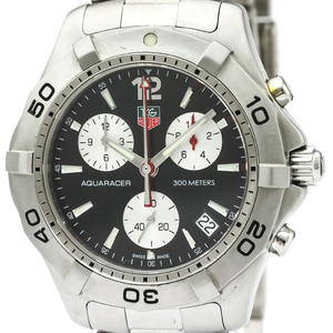 Tag Heuer Aquaracer Quartz Stainless Steel Men's Sports Watch CAF1110
