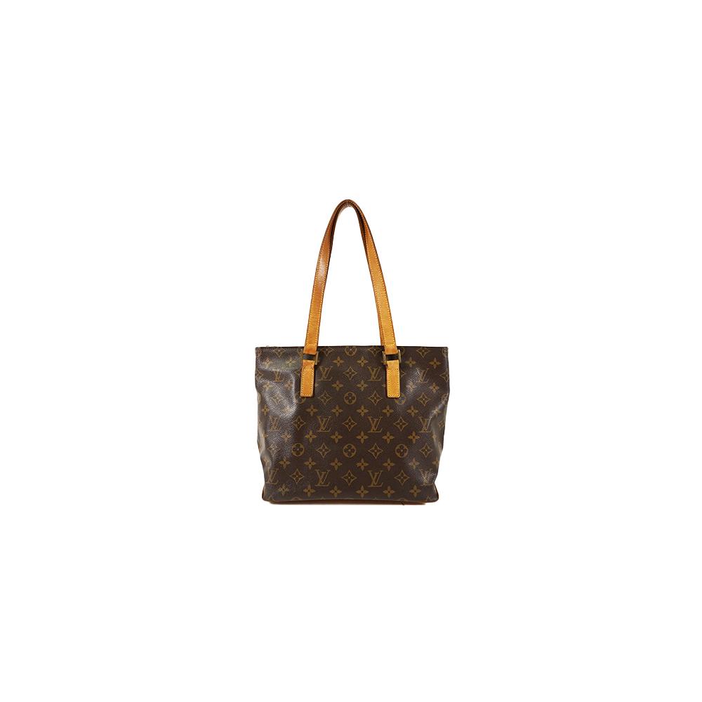 e59e90c6a0 Auth Louis Vuitton Handbag Monogram Cabas Piano M51148