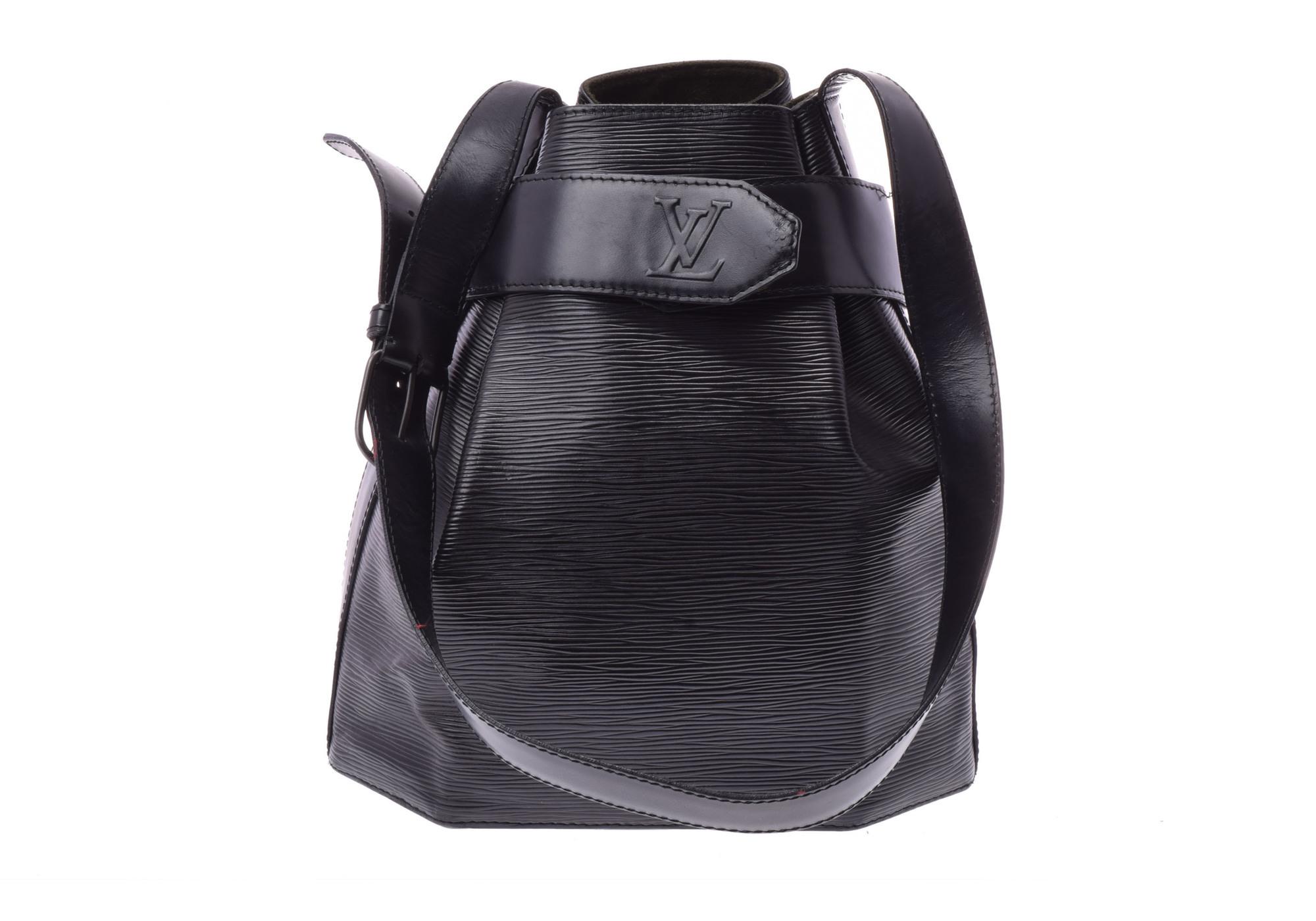 louis vuitton epi sac d 39 epaule m80157 women 39 s shoulder bag noir 810000111321000 ebay