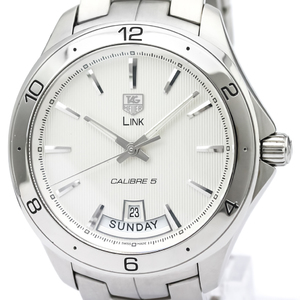 Tag Heuer Link Automatic Stainless Steel Men's Sports Watch WAT2011