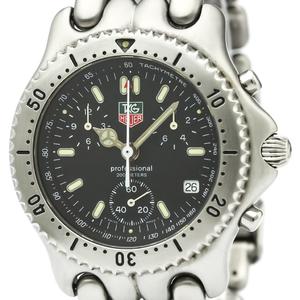 【TAG HEUER】タグホイヤー セル クロノグラフ 200M ステンレススチール クォーツ メンズ 時計 CG1110