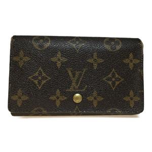 【中古】 ルイ・ヴィトン(Louis Vuitton) モノグラム M61730 ポルトモネ ビエ トレゾール 財布(二つ折り)