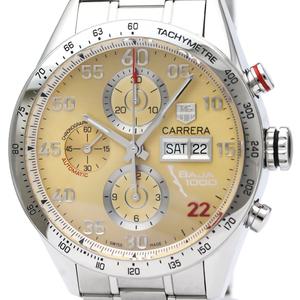 【TAG HEUER】タグホイヤー カレラ バハ カリフォルニア 1000 クロノグラフ 限定 ステンレススチール 自動巻き メンズ 時計 CV2A1H