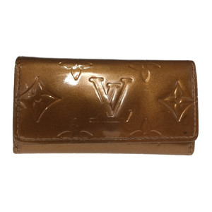 Louis Vuitton M91212 Multicle 4 Vernis Key Case Bronze
