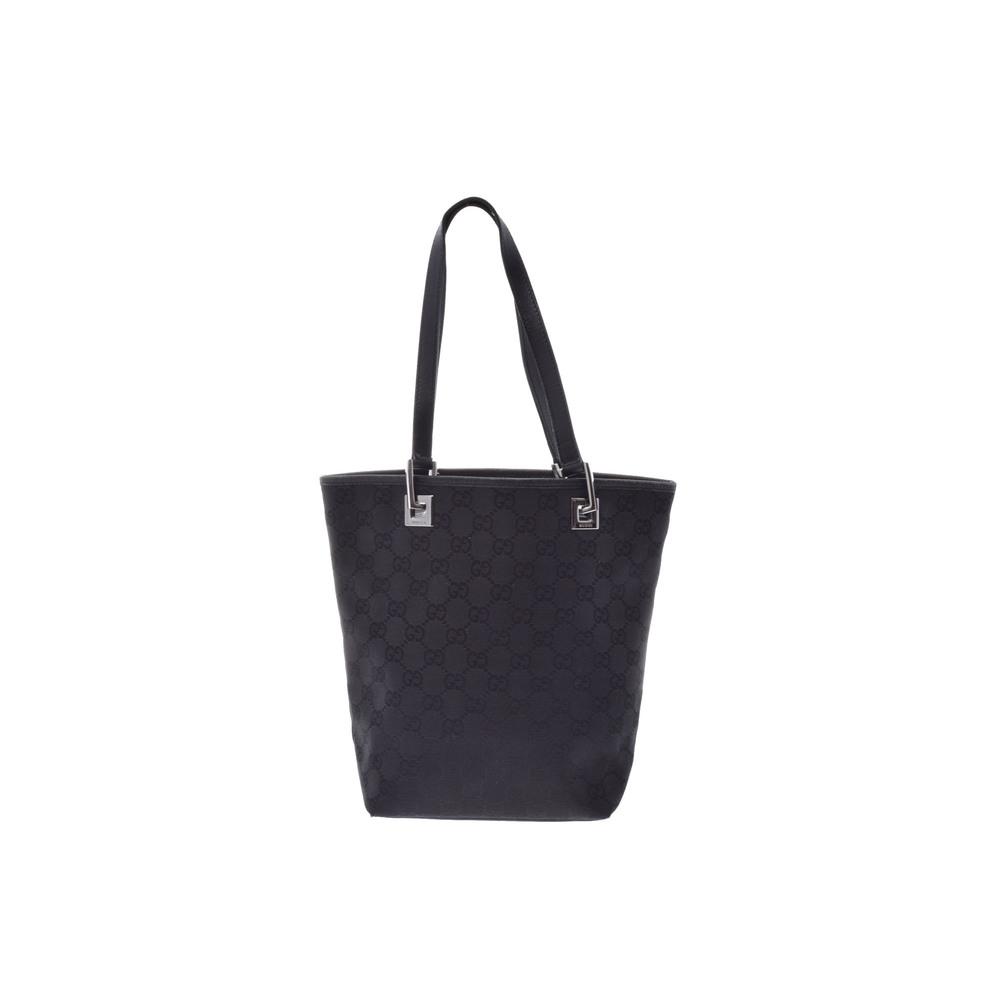 267e625e37426b Gucci GG Canvas Tote Bag Black