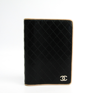 シャネル(Chanel) 手帳 ブラック,ベージュ ビコローレ