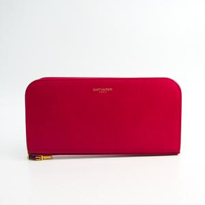 サン・ローラン(Saint Laurent) 326605 レディース レザー 長財布(二つ折り) ピンク